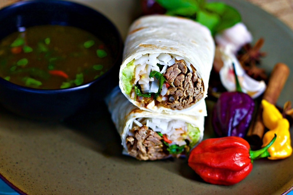 Mad Creations Mexican Keto Phorrito in a bowl