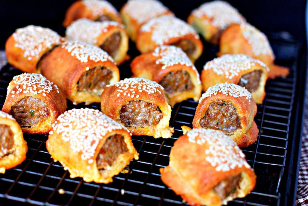 Lamb Kofta Fathead Sausage Rolls