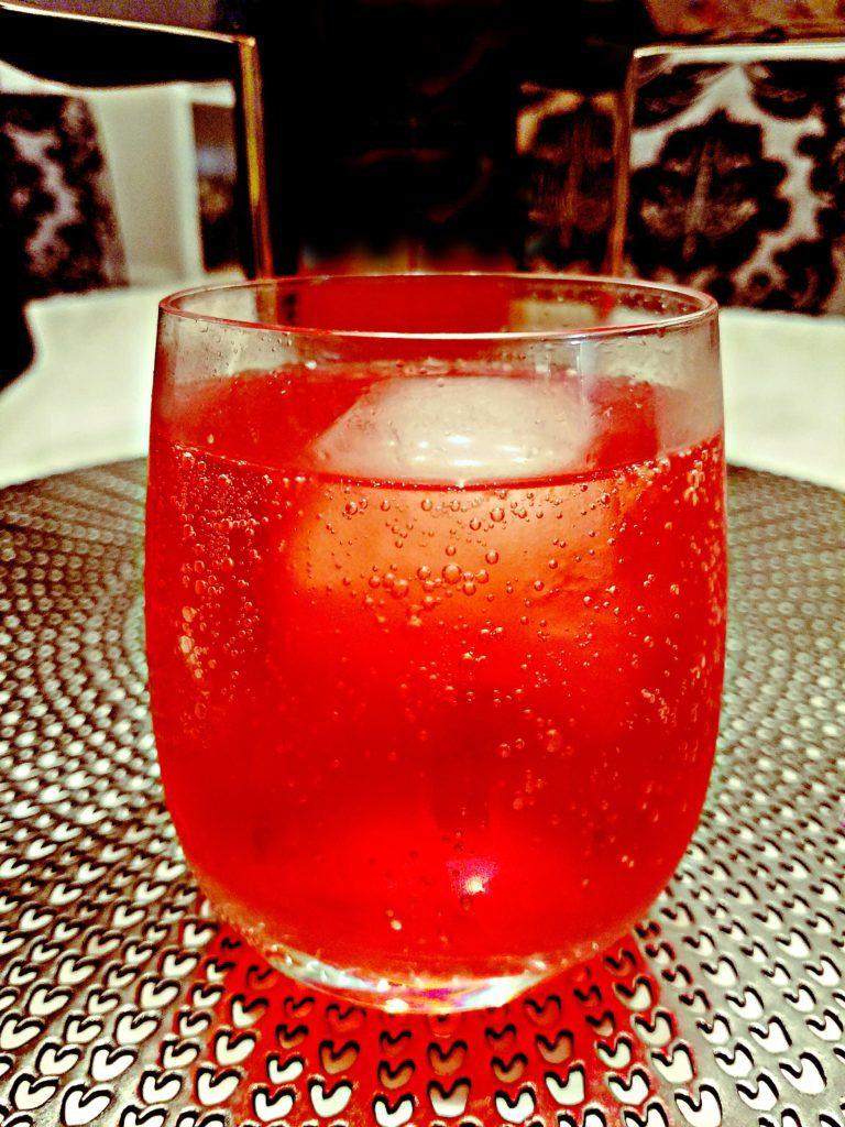 Sugar Free Raspberry Vodka and Soda
