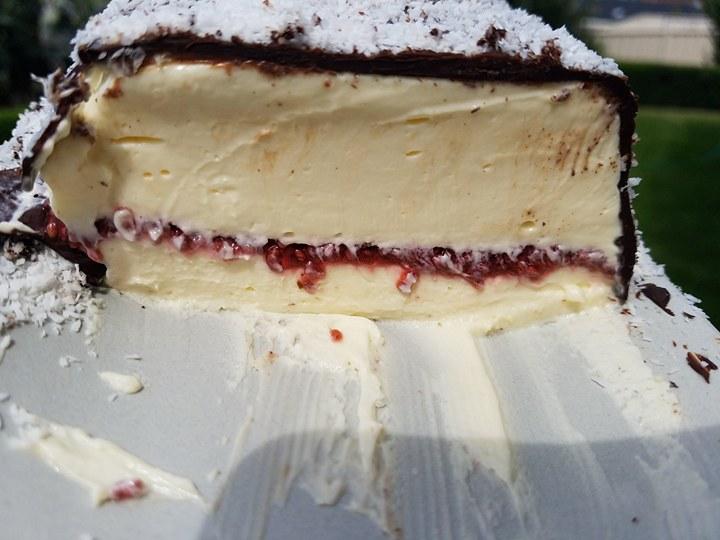 Mad Creations Ketogenic Lamington Cheesecake