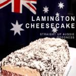 Mad Creations Lamington Cheesecake