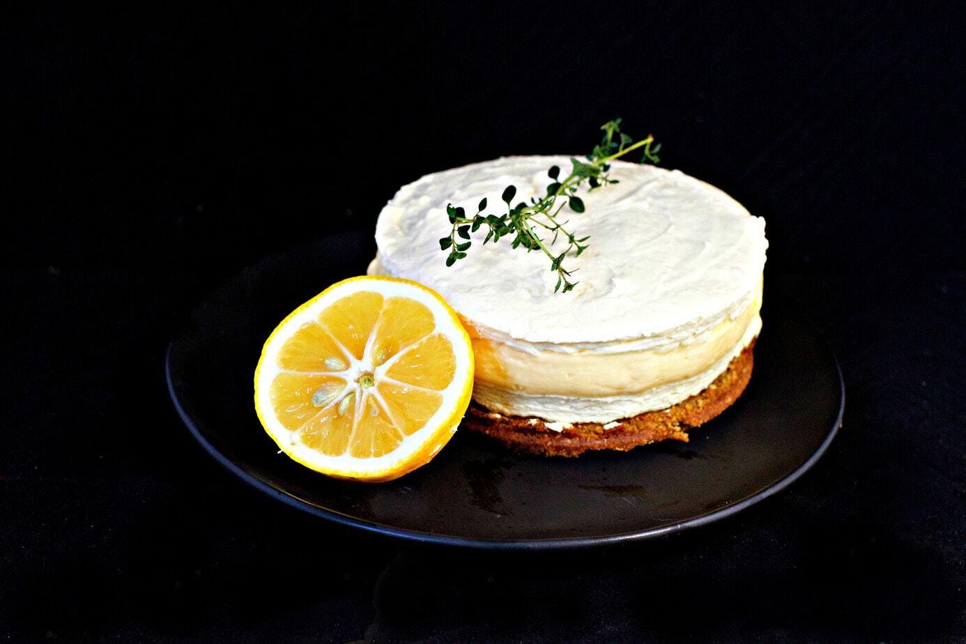Mad Creations Lemon Curd Keto Cheesecake