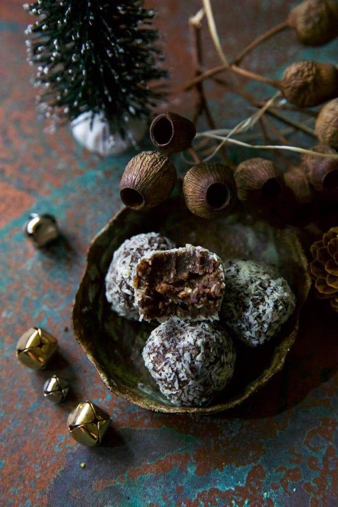 Mad Creations Keto Rum Balls #glutenfree #sugarfree
