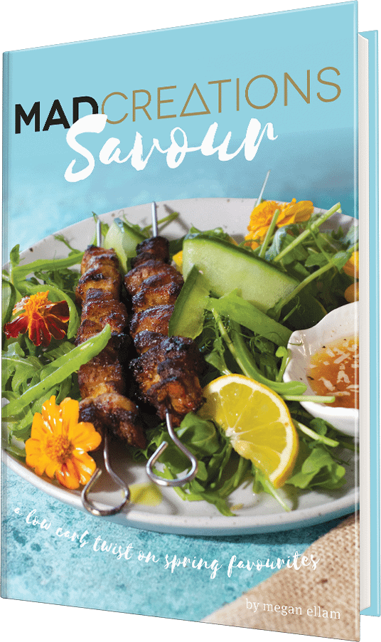 Savour Keto low carb digital cookbook cover