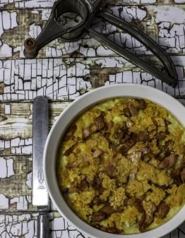Mad Creations Keto Tuna Mornay with Crispy Bacon & Cheese
