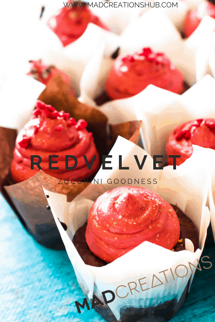 Mad Creations Red Velvet Cupcakes