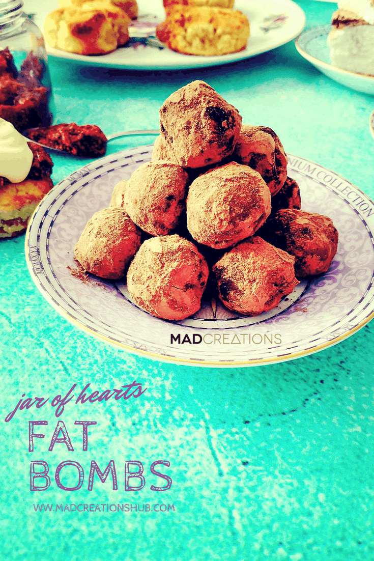 Mad Creations Fat Bomb Keto Truffles