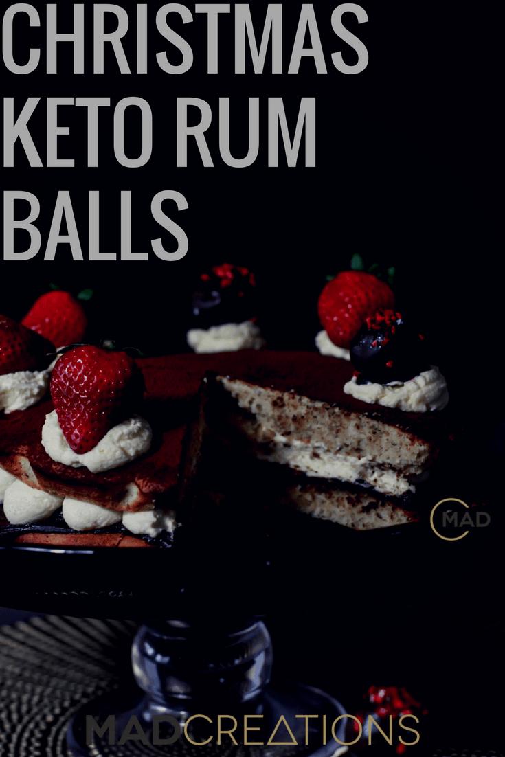 Mad Creations Keto Rum Balls
