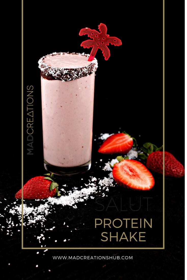 Mad Creations Strawberries & Cream Protein Keto Shake