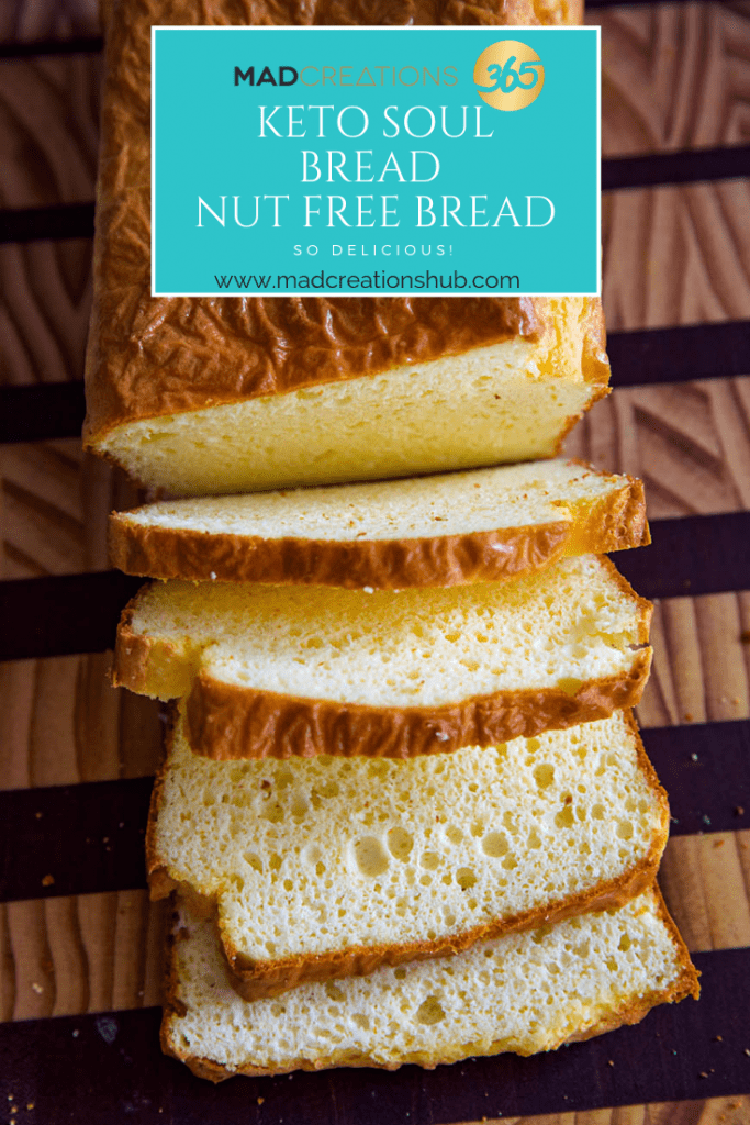 Mad Creations Keto Soul Bread #glutenfree #grainfree #ketosoulbread