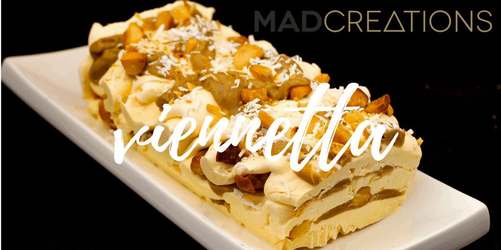 Mad Creations Anzac Viennetta Keto Cheesecake
