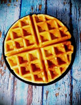 Mad Creations Crispy Almond Keto Waffle