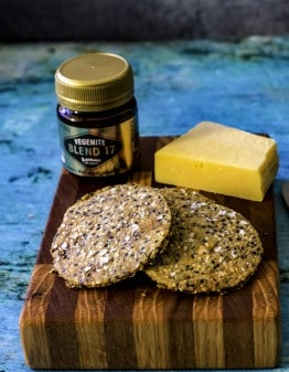 Mad Creations Vegemite & Cheese Keto Crackers