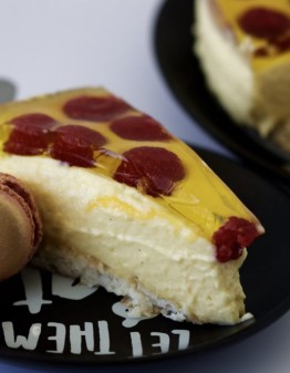 Mad Creations Mango Macaroon Cheesecake