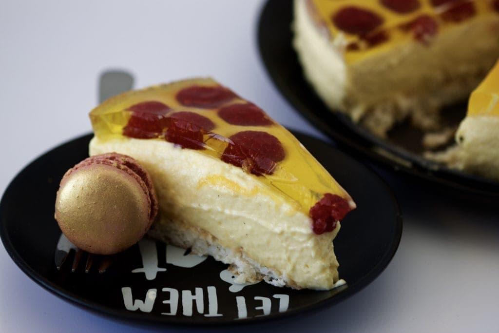 Mad Creations Mango Macaroon Cheesecake