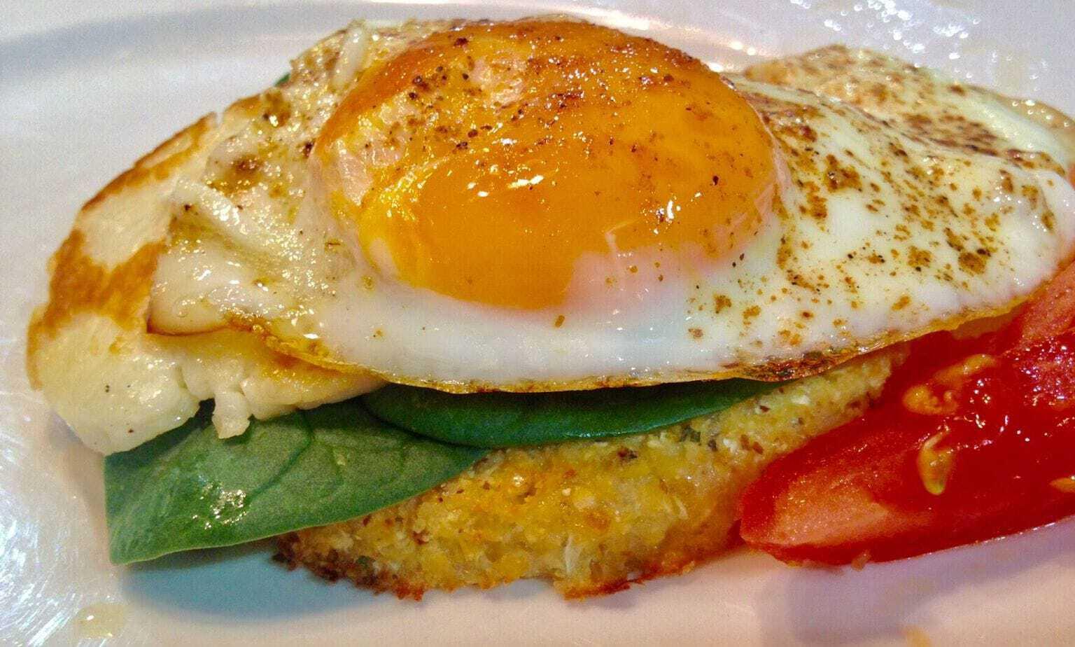 Mad Creations Cauli Toast with Egg