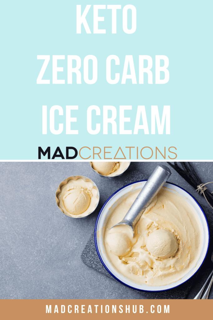 ice cream scoop in a bowl of ice cream