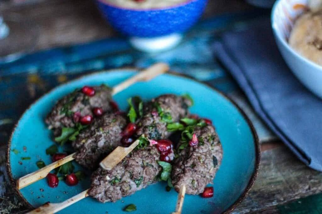 Mad Creations Kafta Lamb Kebabs #ketodiet #ketomeals