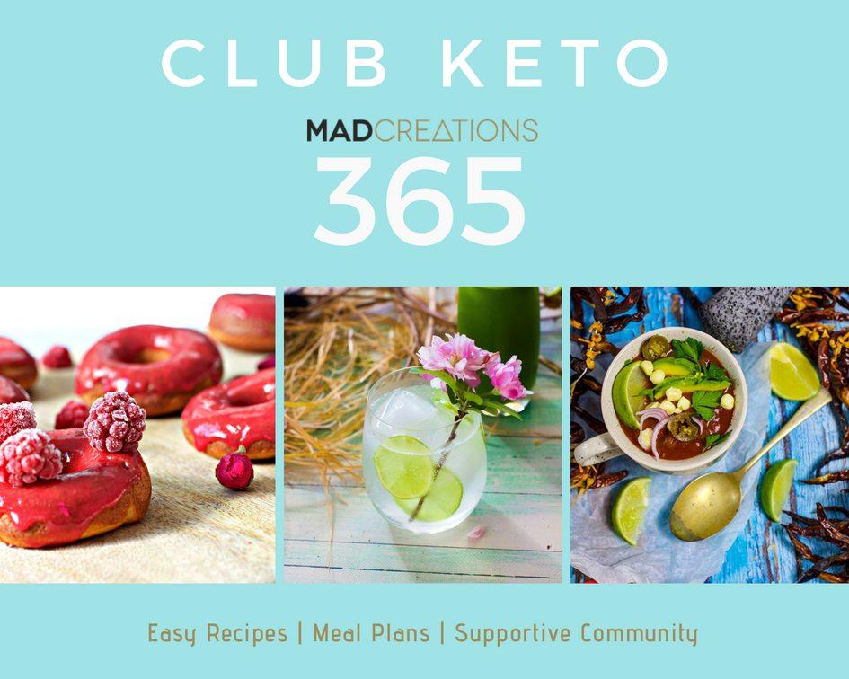 Club Keto banner