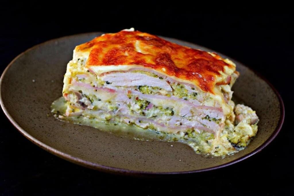 Chicken Keto Lasagne