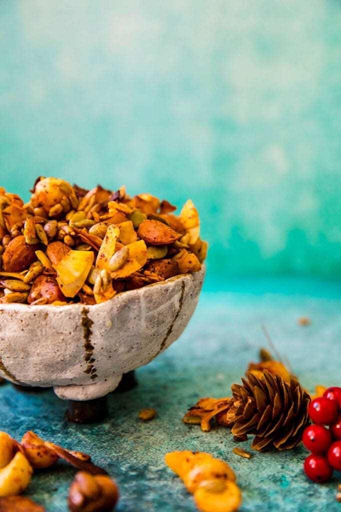 Mad Creation Keto Cookbook Chilli Spice Trail Mix