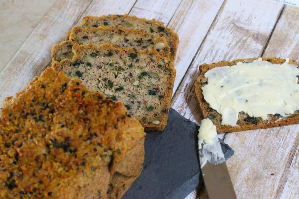 Hemp Seedy Bread from Keto for Beginners Vol 2