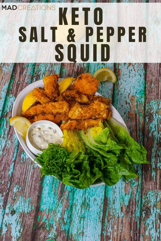 Mad Creations Keto Salt & Pepper Squid