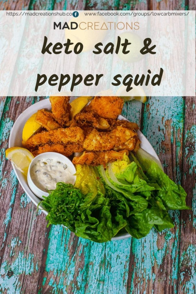 Mad Creations Keto Salt & Pepper Squid Banner
