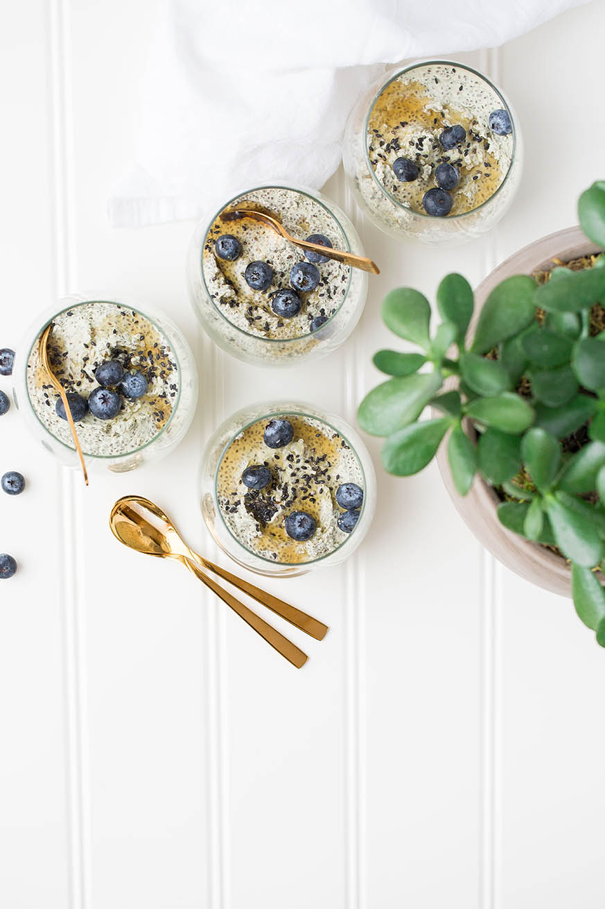 Mad Creations Vanilla Chai Chia Pudding #chai #chiapudding #ketobreakfast