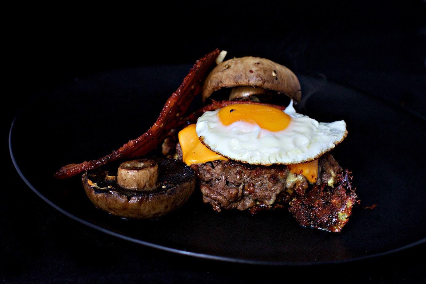 Mad Creations Portabello Bunless Burgers #ketodiet#ketoburger