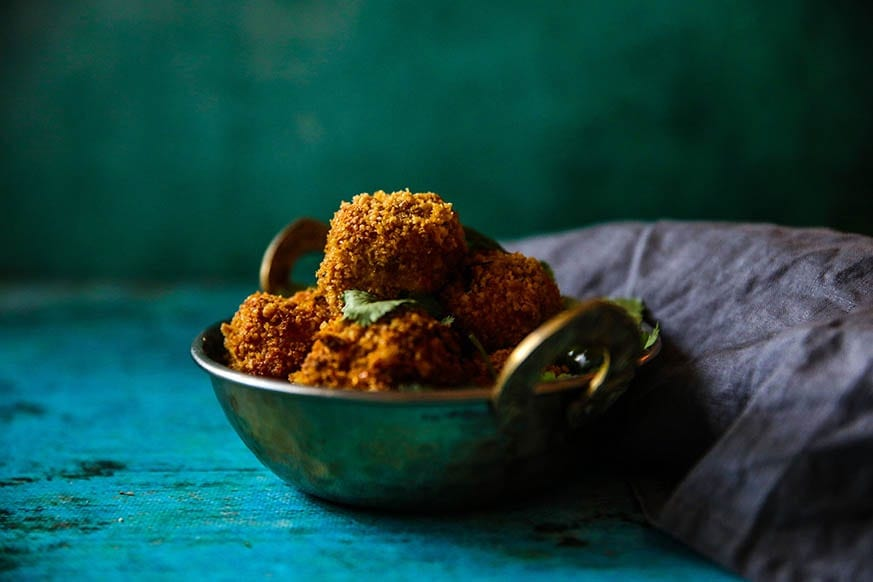 Mad Creations Garlic Chicken Pakora #glutenfree #grainfree #Indianketo #ketodiet