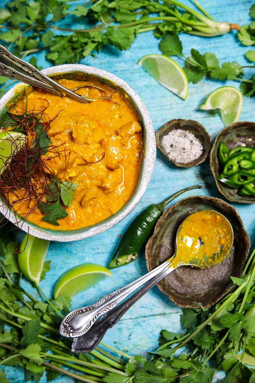 Mad Creations Saffron Chicken Korma #glutenfree #grainfree #ketodiet_
