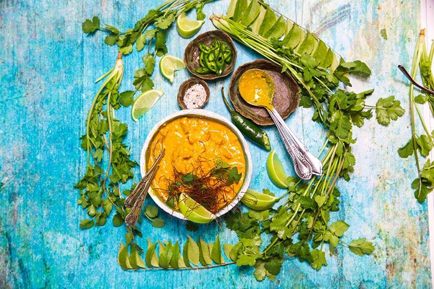 Mad Creations Saffron Chicken Korma landscape #glutenfree #grainfree #ketodiet_