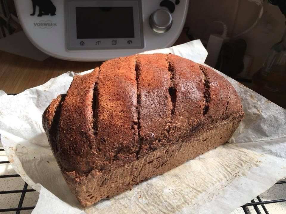 Mad Creations Cacao Bread #ketobread #ketodiet #glutenfree