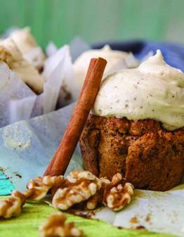 Mad Creations Walnut Cinnamon Bun Keto Muffins #glutenfree #sugarfree #ketogenicdiet #ketodesserts #ketorecipes