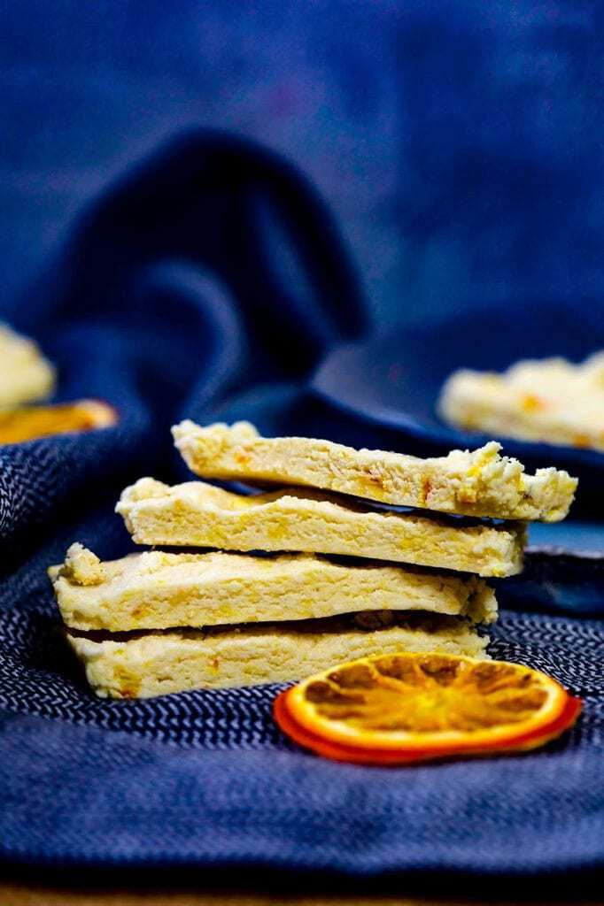Mad Creations Orange Nougat Keto Protein Bar #ketodiet #sugarfree #proteinbarrecipe