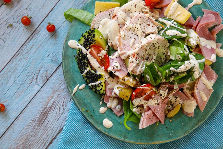 Mad Creations Smoky Ranch Chicken Salad #ketogenicdiet #smokyranch #ketosalad #madcreations