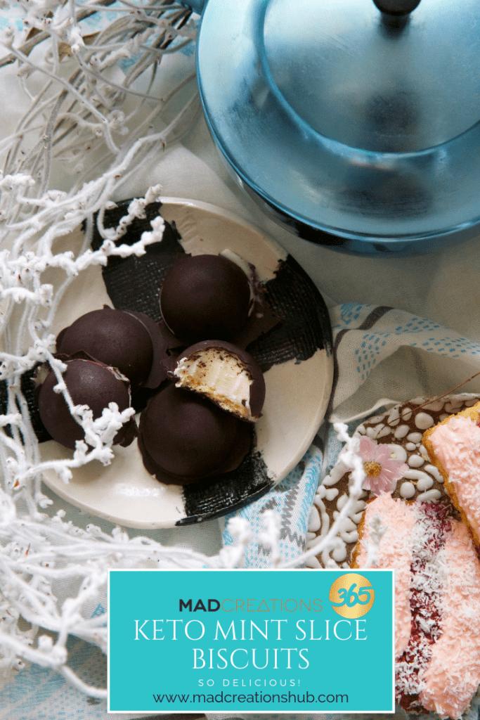 Mad Creations Keto choc Mint Biscuit #sugarfree #ketobiscuit