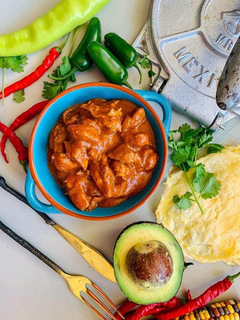 Mad Creations Best Ever Keto Chicken Enchilada #glutenfree #sugarfree #keto