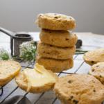 Mad Creations Savoury Garlic Chives & Cheddar Keto Scones