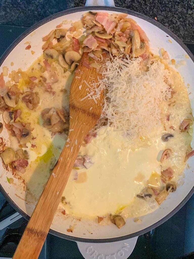 Mad Creations Creamy Bacon & Mushroom Keto Pasta