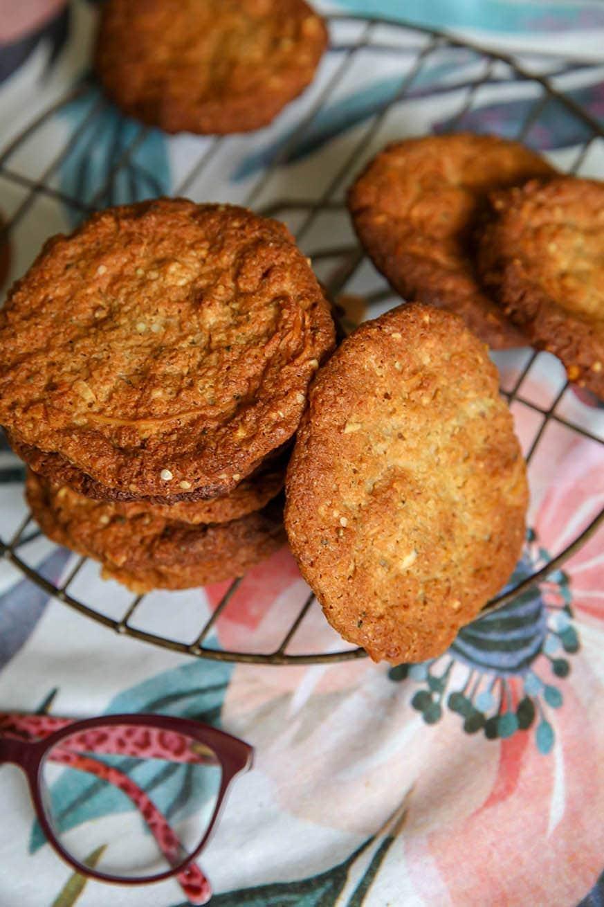 Keto Anzac Biscuits Sugar Free Recipe Mad Creations Hub