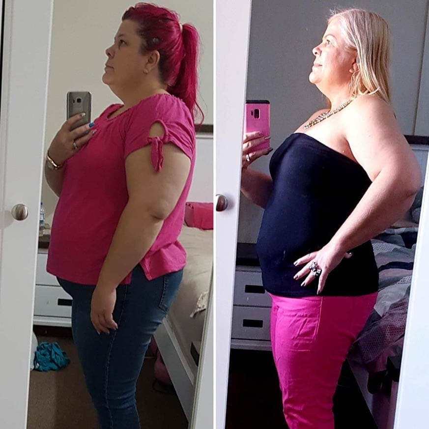Keto Diet Success Story Kerri Nicol before and after weight loss