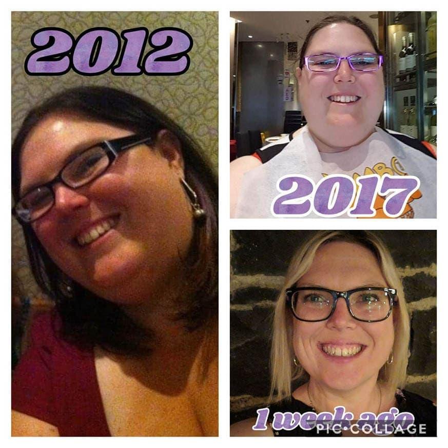 Nicole Mahoney weight loss over 7 years
