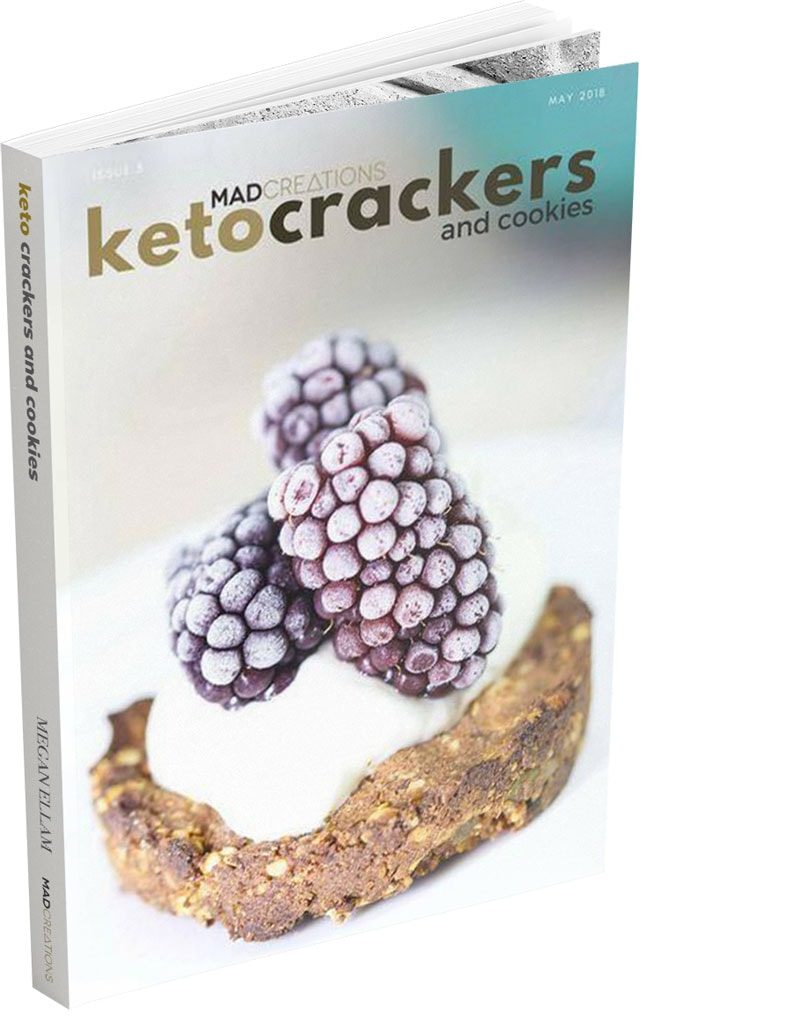 Keto Crackers eBook cover
