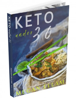 cover of keto under 30 eBook