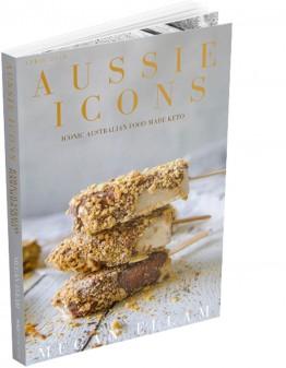 Aussie Icons Keto Recipe eBook cover