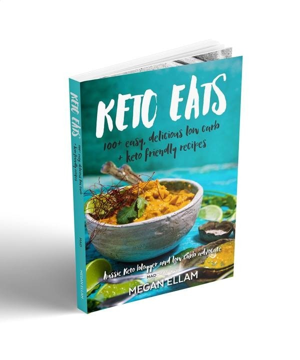 cover of keto eats cookbook