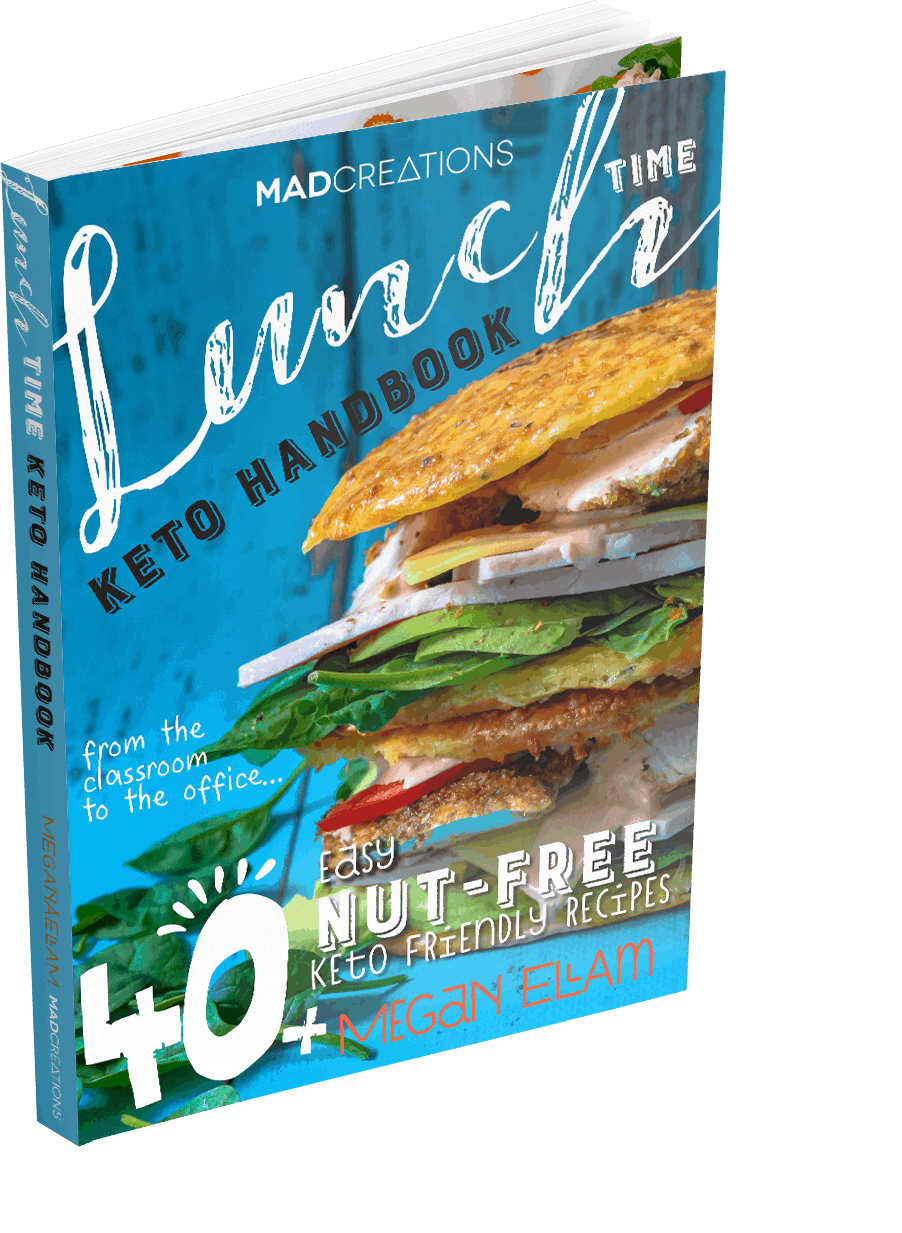 cover of the lunch time keto cookbook