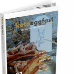 egg fast ebook cover with waffles